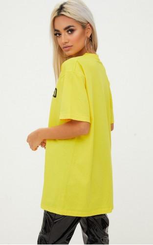 Yellow T-shirts